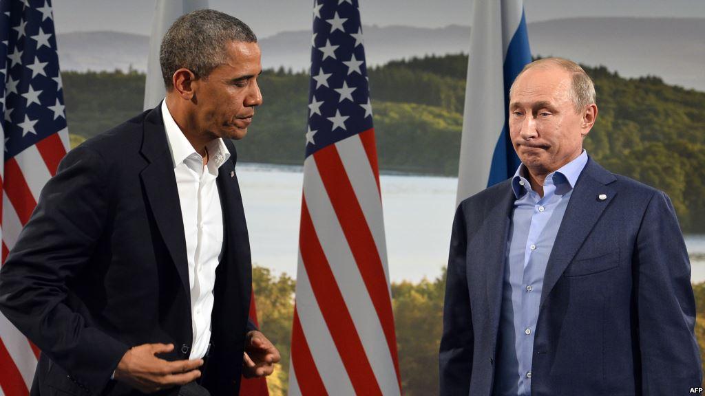 Барак Обама: Путин стоит одной ногой в советском прошлом. Он подражает КГБ