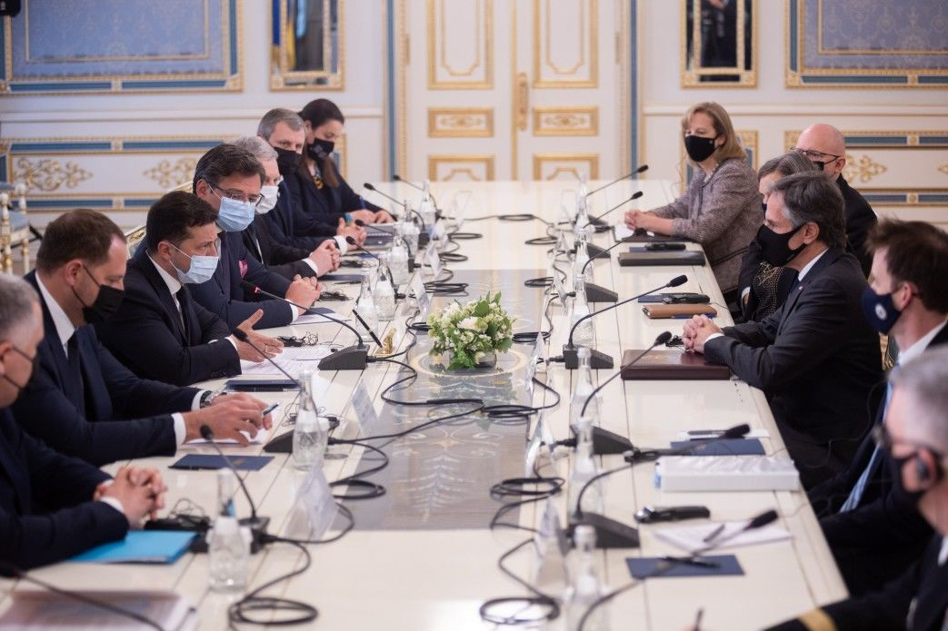 Неприятный сюрприз для России: главное из встречи Зеленского и Блинкена в Киеве