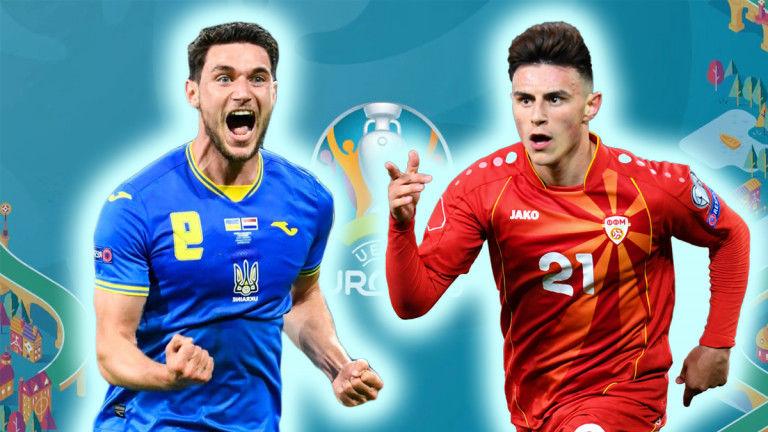 Украина и Северная Македония: обзор матча