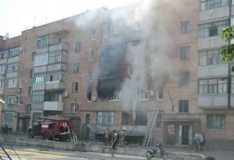 Как выглядит Макеевка после артобстрела 19 августа: видео