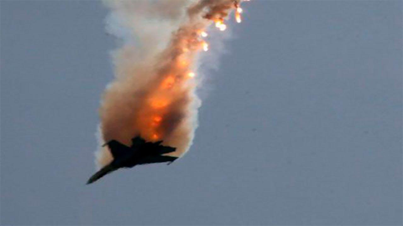 Опубликованы кадры ликвидации бомбардировщика Су-22 в Сирии: Израиль сбил самолет ракетой Patriot