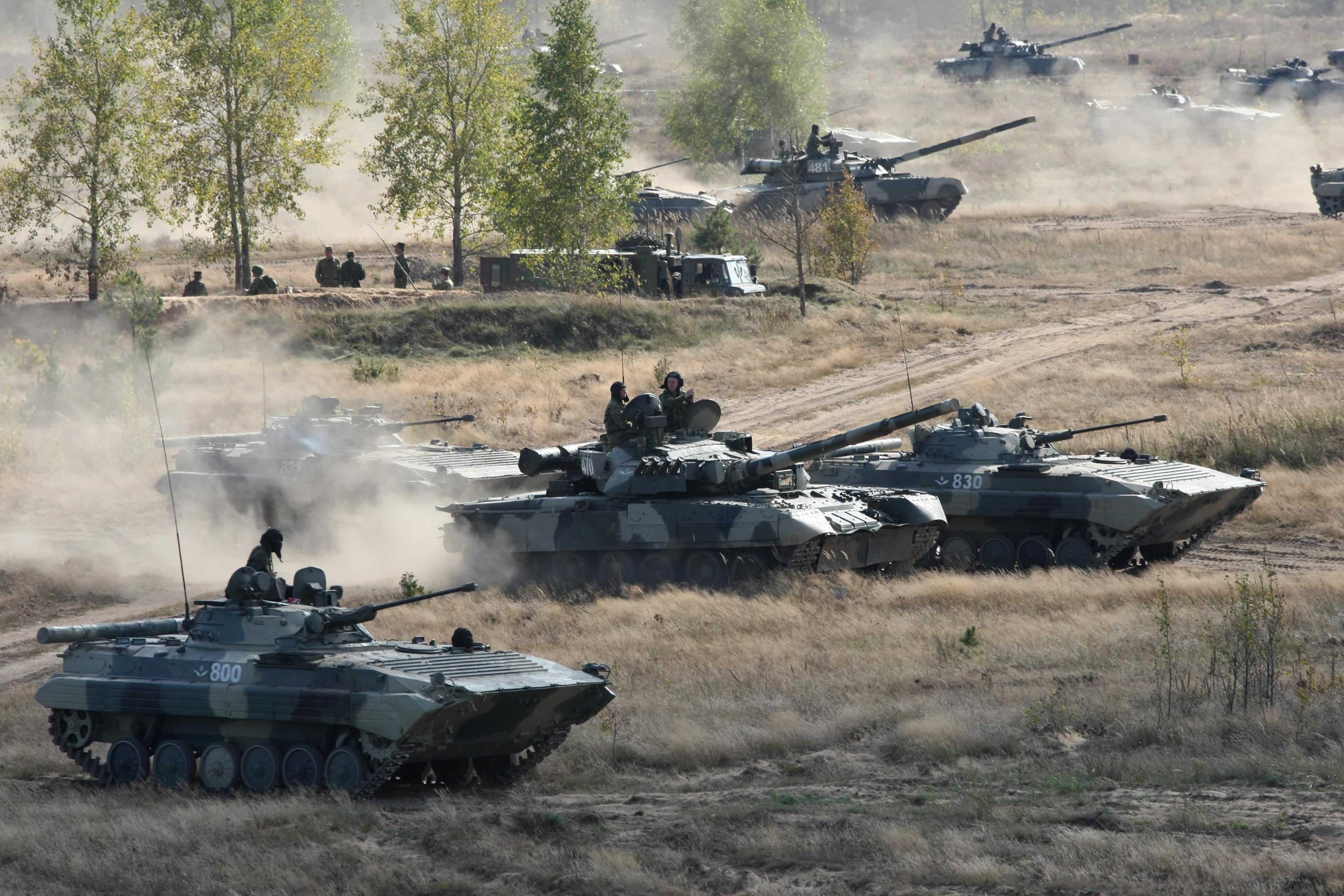 Россия начала новые масштабные военные учения