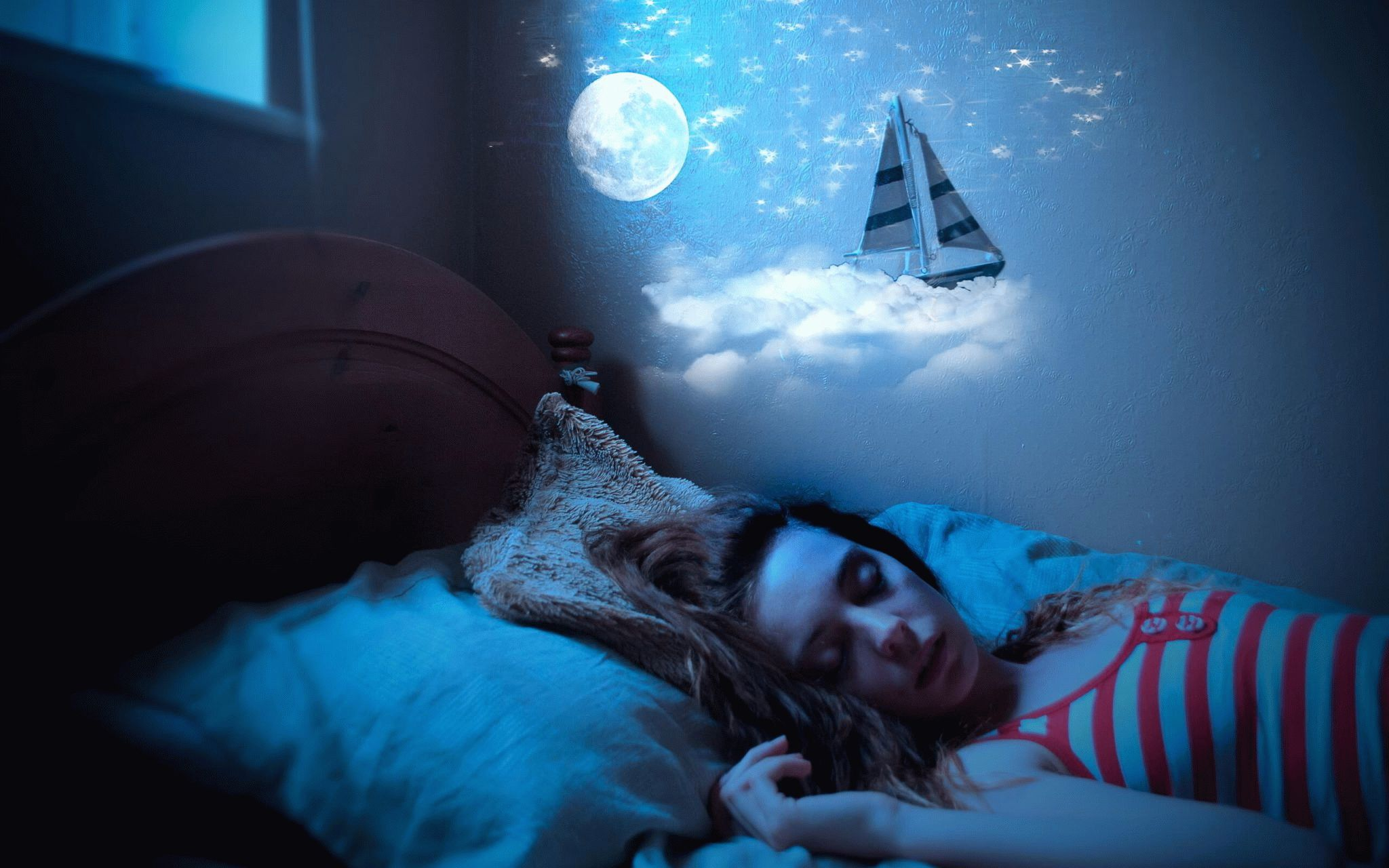 необычные сны картинки самое