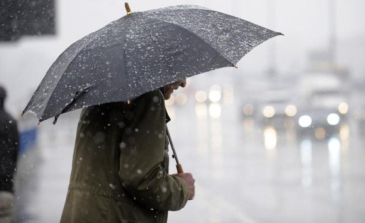 Превратности климата в последнюю неделю ноября: дожди и снегопады