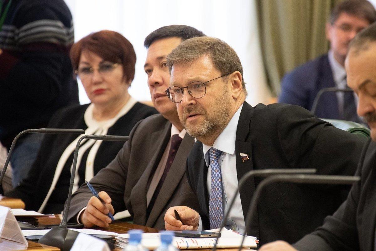 Россия, Косачев, Совет Федераций, США, Украина, Трамп.
