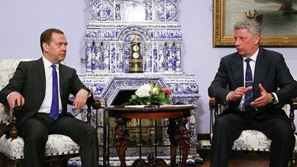 Виктор Медведчук, Юрий Бойко, Дмитрий Медведев, Россия, Украина, Новости, Газпром, переговоры