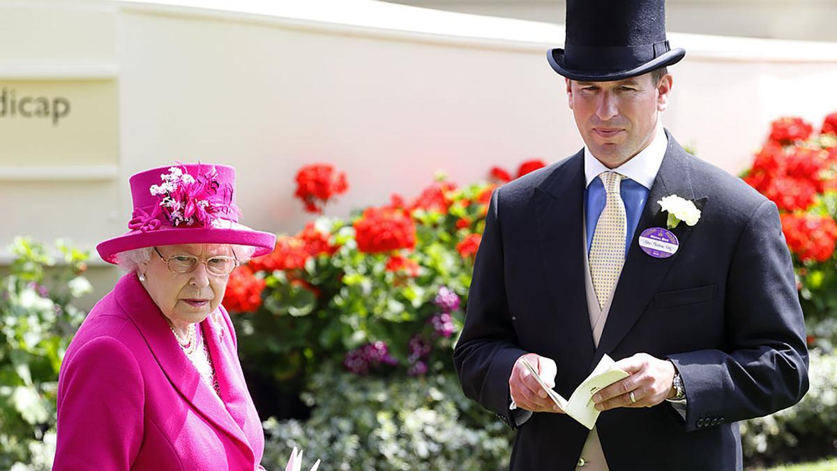 королева великобритании, королевский дворец, разводится сын принцессы анны