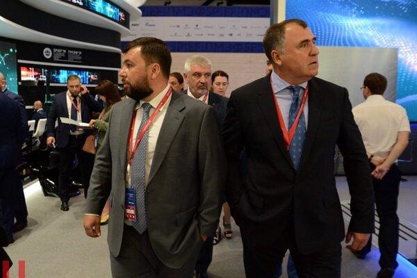 Пушилин, ДНР, мероприятие, санкции, Россия, Петербургский международный экономический форум, серьезные игроки
