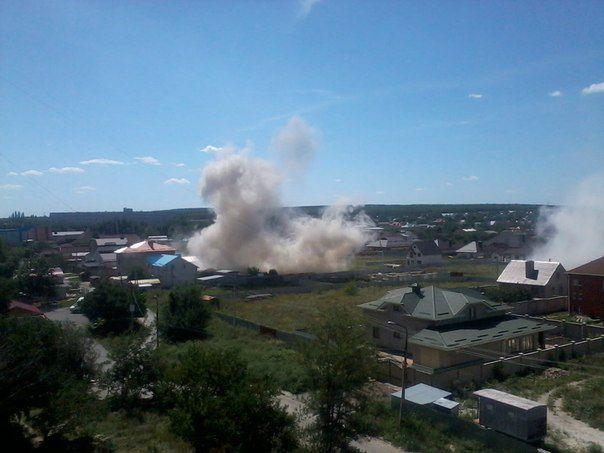 Утренний обстрел привокзального района Донецка