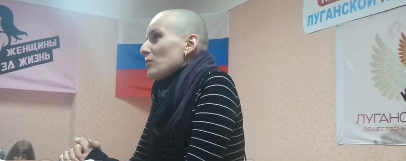 """Жена убитого боевика Дремова приехала в """"ЛНР"""": сепаратистка объявила о своих бизнес-планах и сделала ряд заявлений"""