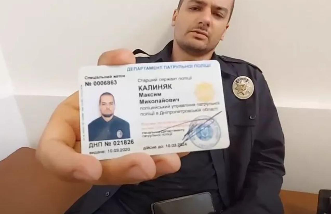 В Днепре полицейские избили патрульного на глазах у руководства: пострадавший записал видео
