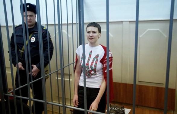 Савченко: Я выучила русский за полгода, хотя никогда им не пользовалась