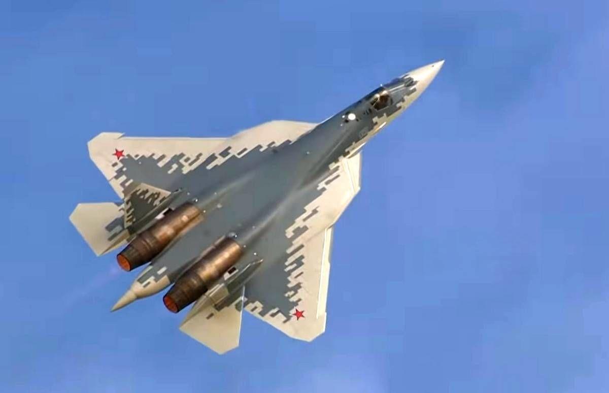 """В России разработают компактную гиперзвуковую ракету для истребителя V поколения """"Су-57"""""""
