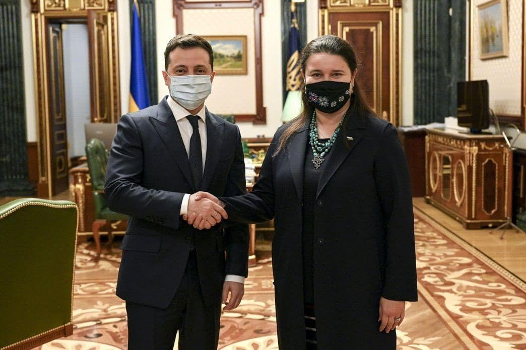 """Зеленский назначил послом Украины в США """"сильного переговорщика"""""""