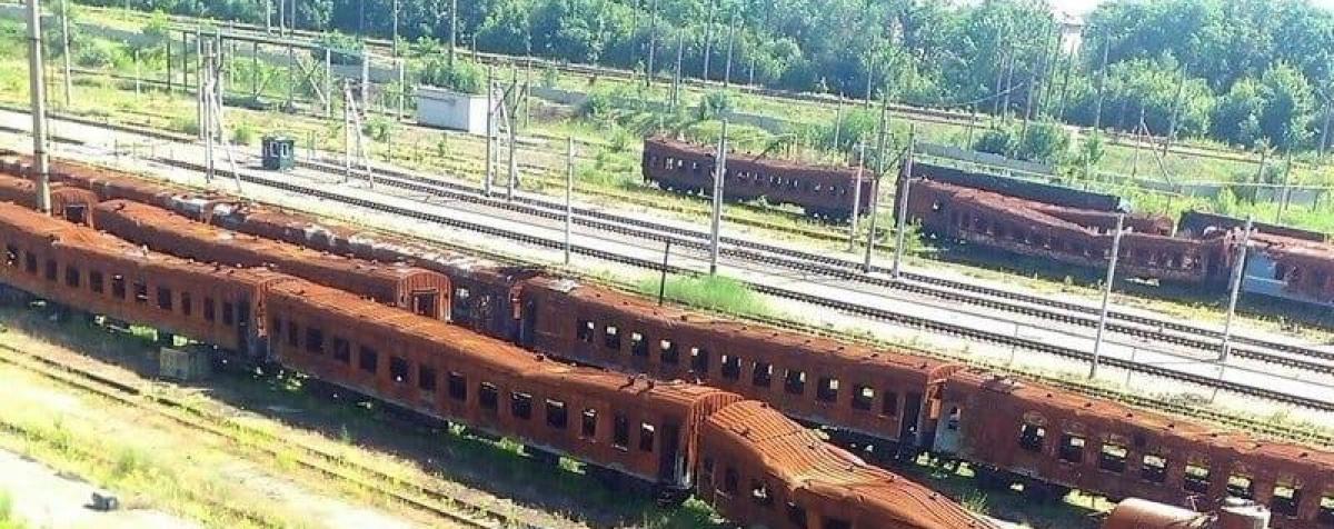 """В сети появилось фото """"убитого"""" Ж/Д вокзала в Донецке: """"Раньше тут мчали поезда..."""""""