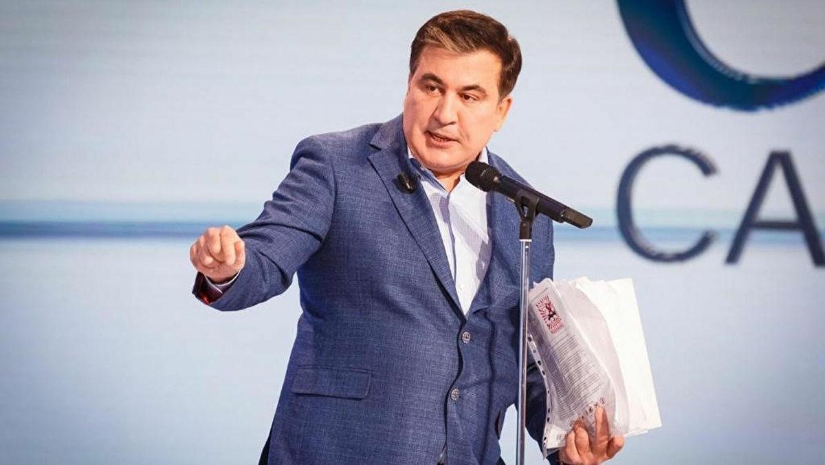 """Саакашвили объяснил план Кремля по переселению жителей """"ДНР"""" и """"ЛНР"""" в Россию"""