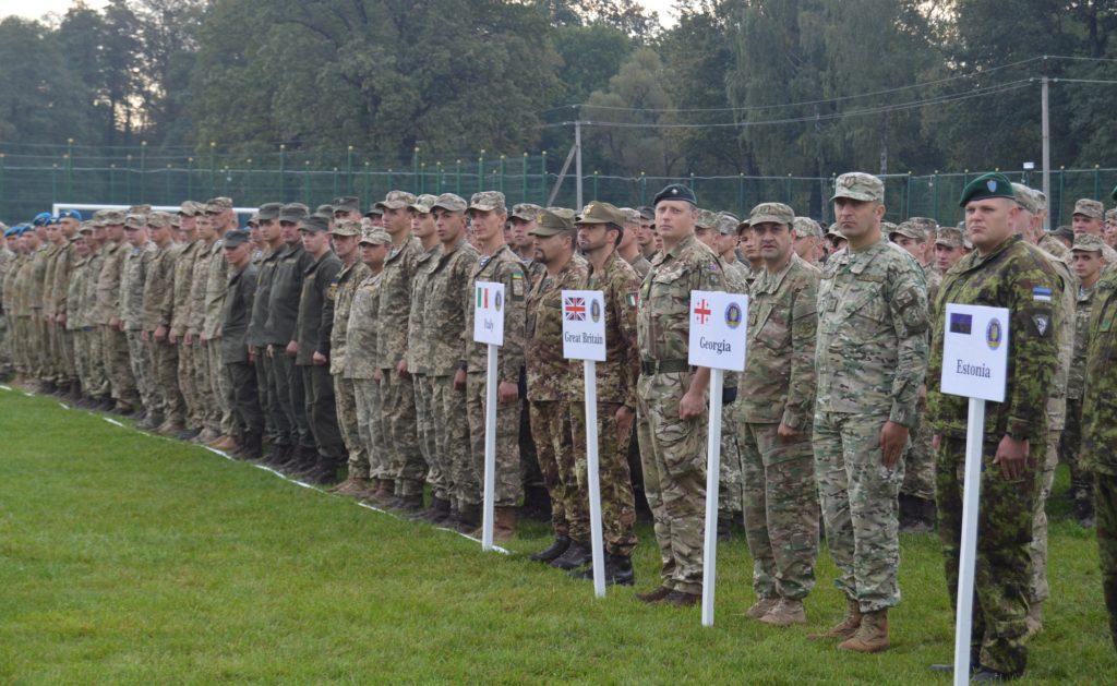 В Украину прибыли 2,5 тысячи солдат из 15 стран мира: Украина и США проводят международные военные маневры