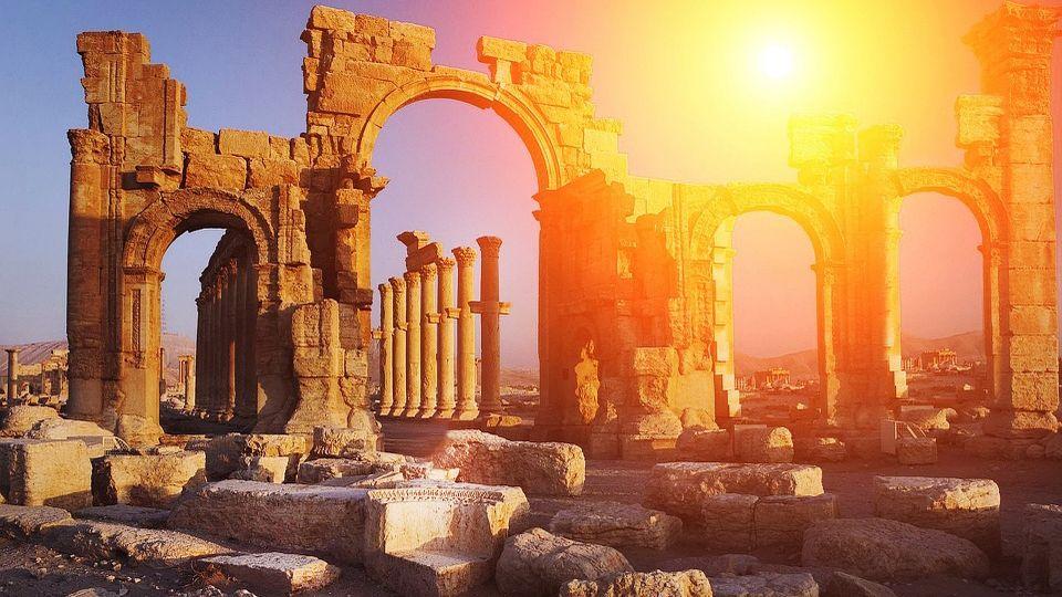 Древняя Греция, история, аномалия, инцидент, происшествие, храм, подъемный кран