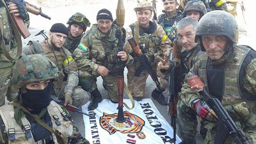 Ярош сообщает о взятии опорного пункта батальона «Восток» под Донецком