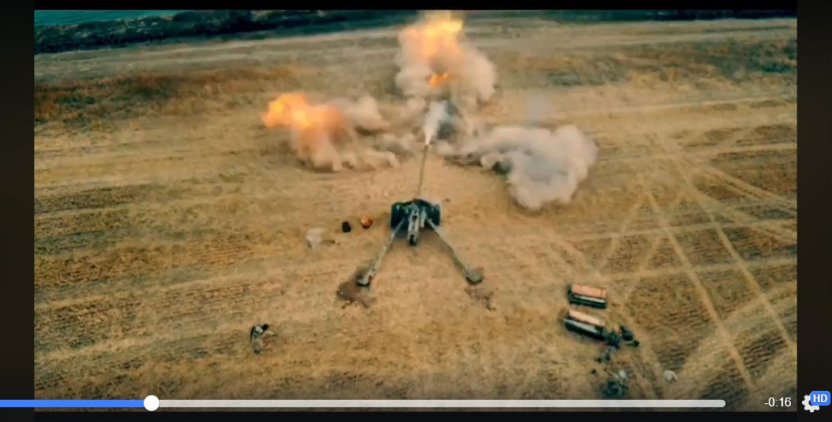 Шквальный удар артиллерии ВСУ: морская пехота ООС открыла огонь из тяжелых орудий - видео