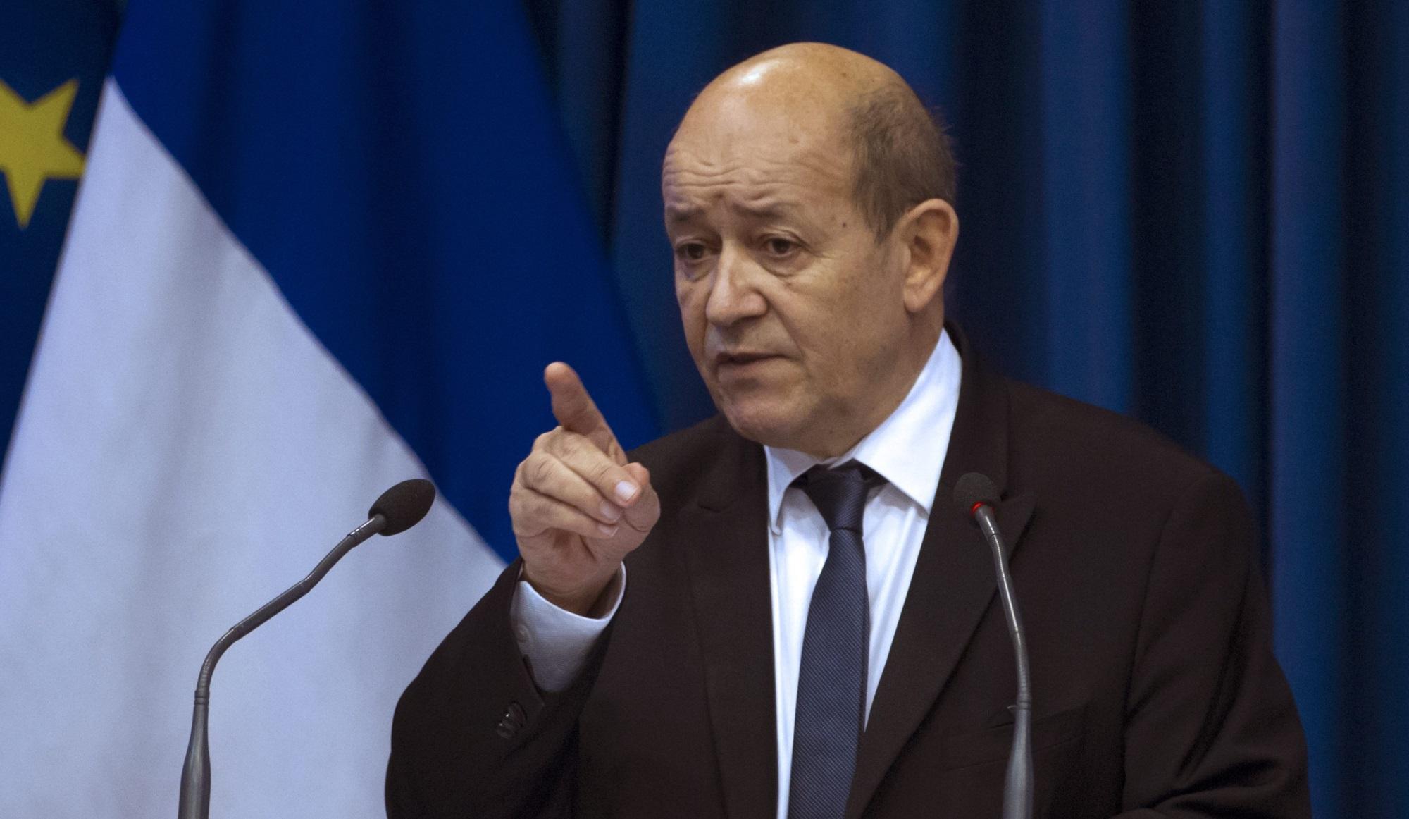 Отмена санкций в отношении России? Все зависит от воли и желания Украины! – глава МИД Франции Ле Дриан