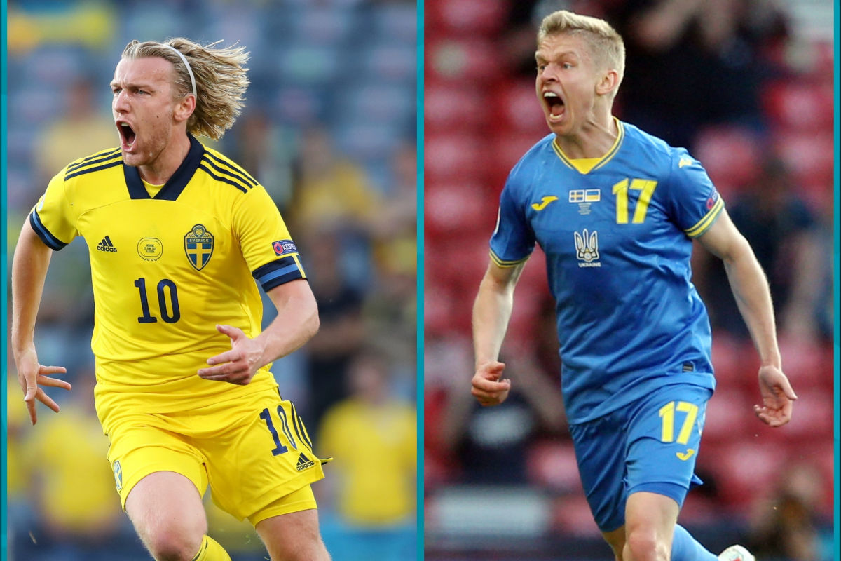 """""""Это было красиво"""", - сборная Украины забила гол, но шведы сравняли счет"""