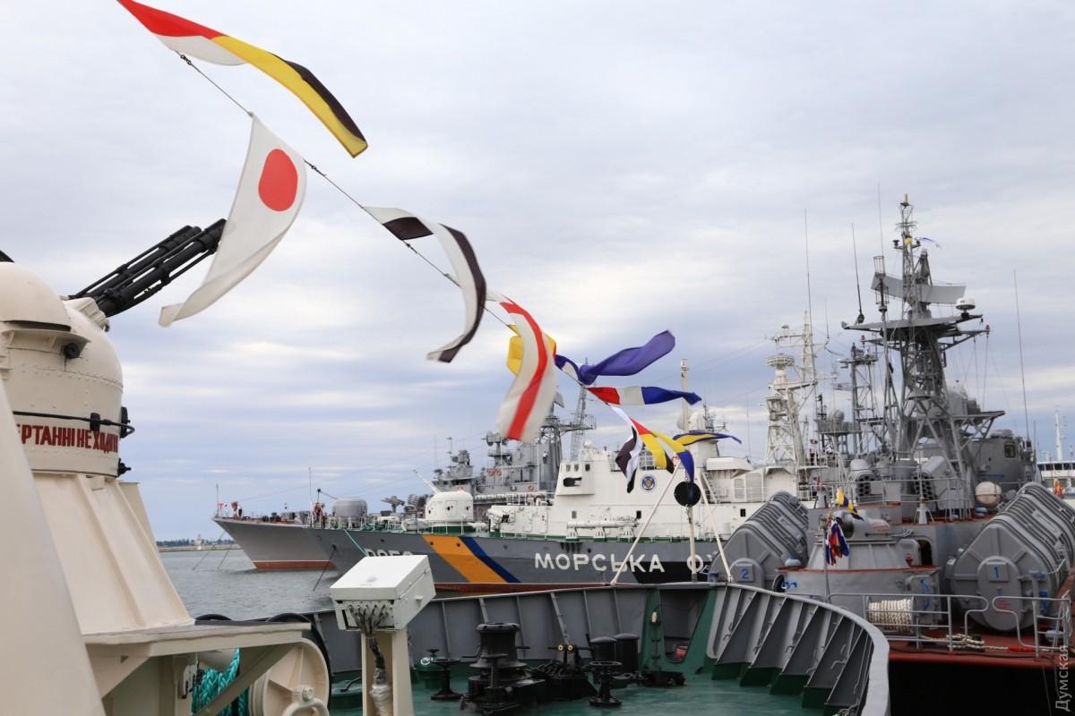 Весь состав ВМС Украины поднят по тревоге: все боевые корабли выходят в море