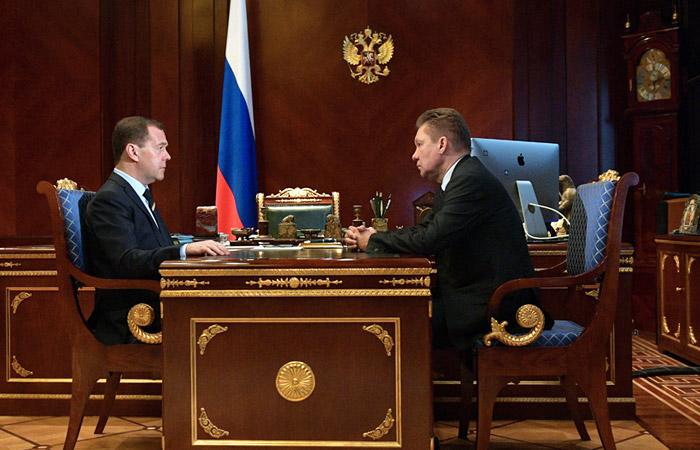 газпром, нафтогаз, украина, скандал, россия, украина, газовая война, алексей миллер, медведев