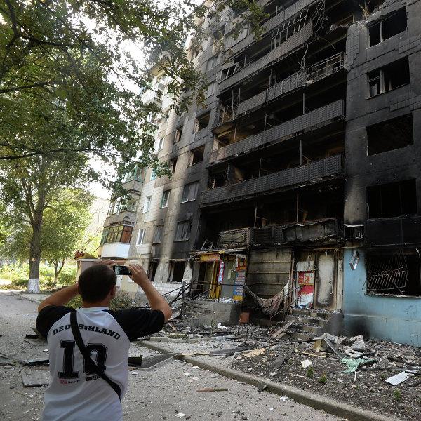 ОБСЕ зафиксировала разрушения после артобстрела Шахтерска