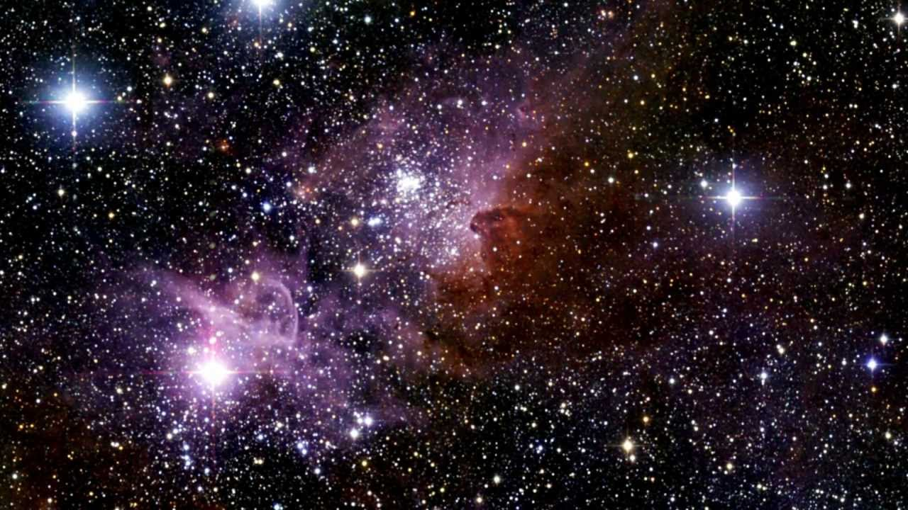 Астрономы показали необыкновенный снимок скопления галактик в Райской Птице - кадры