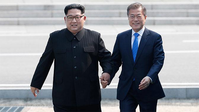 Последний союзник Кремля утерян: президент Южной Кореи Мун Чжэ Ин прибыл в КНДР к Ким Чен Ыну - кадры