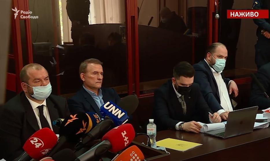 Суд над Виктором Медведчуком в прямом эфире: онлайн-видеотрансляция