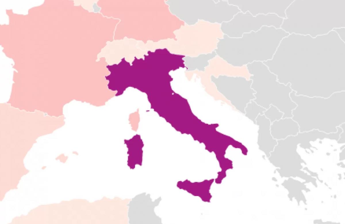 Италия сообщила хорошую новость о борьбе с коронавирусом: в стране установлен рекорд