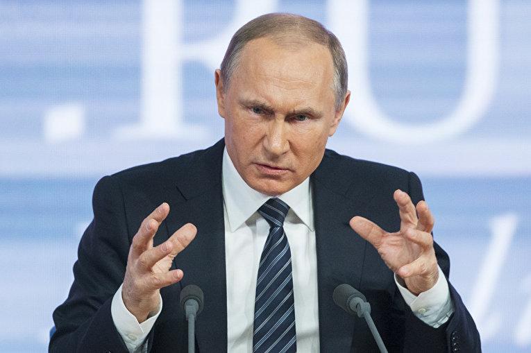 """""""Окружат и всех убьют"""": Путин придумал новую циничную """"страшилку"""" о ВСУ и заявил, что Украина не получит контроль над границей с оккупированным РФ Донбассом"""