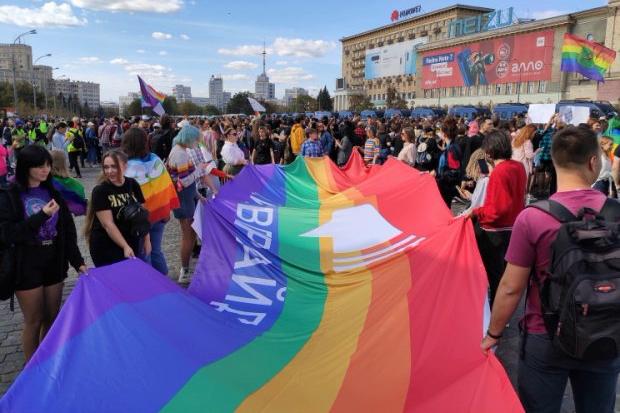 харьков, гей-парад, харьковпрайд, провокация, драка