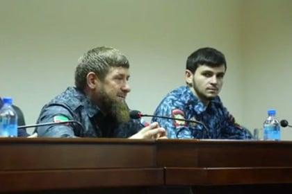 Когда родственник  – глава республики: юный студент Кадыров возглавил всю полицию Грозного