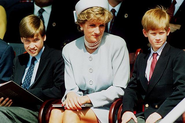 Принцесса Диана примирила принцев Гарри и Уильяма: впервые согласились провести важное мероприятие