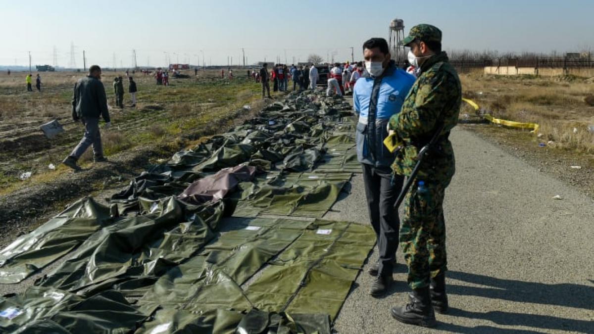 Источники из Пентагона: украинский Boeing сбит иранской ракетой, американский спутник зафиксировал вспышки двух пусков