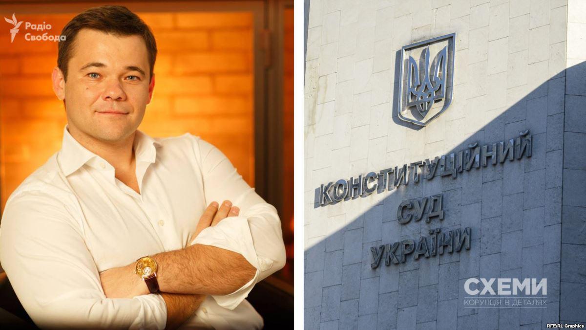 Украина, Политика, Конституционный суд, Зеленский, Богдан.