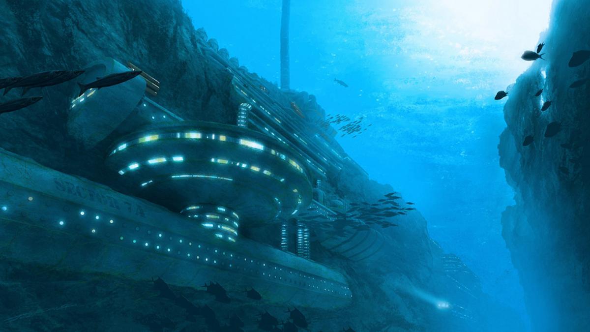 В Бермудском треугольнике нашли 13-километровый НЛО, к которому ведут многочисленные дороги