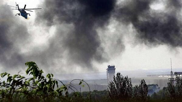 Обстановка в Донецке на 23:45: бомбежка Песок, взорванный мост и паникующие жители