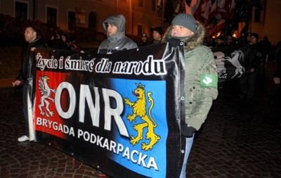 """""""Мы осуждаем любые действия и призывы, которые ведут к национальной розни"""", - Украина потребует расследовать инцидент во время  марша в Перемышле"""