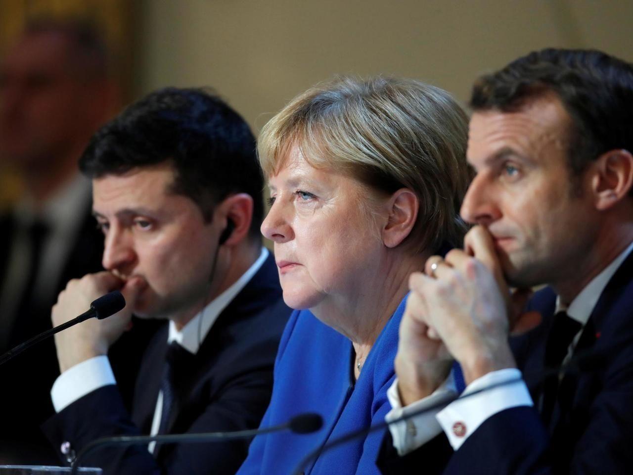 """""""Нормандская тройка"""" без Путина: Зеленский готовится к переговорам с Меркель и Макроном"""