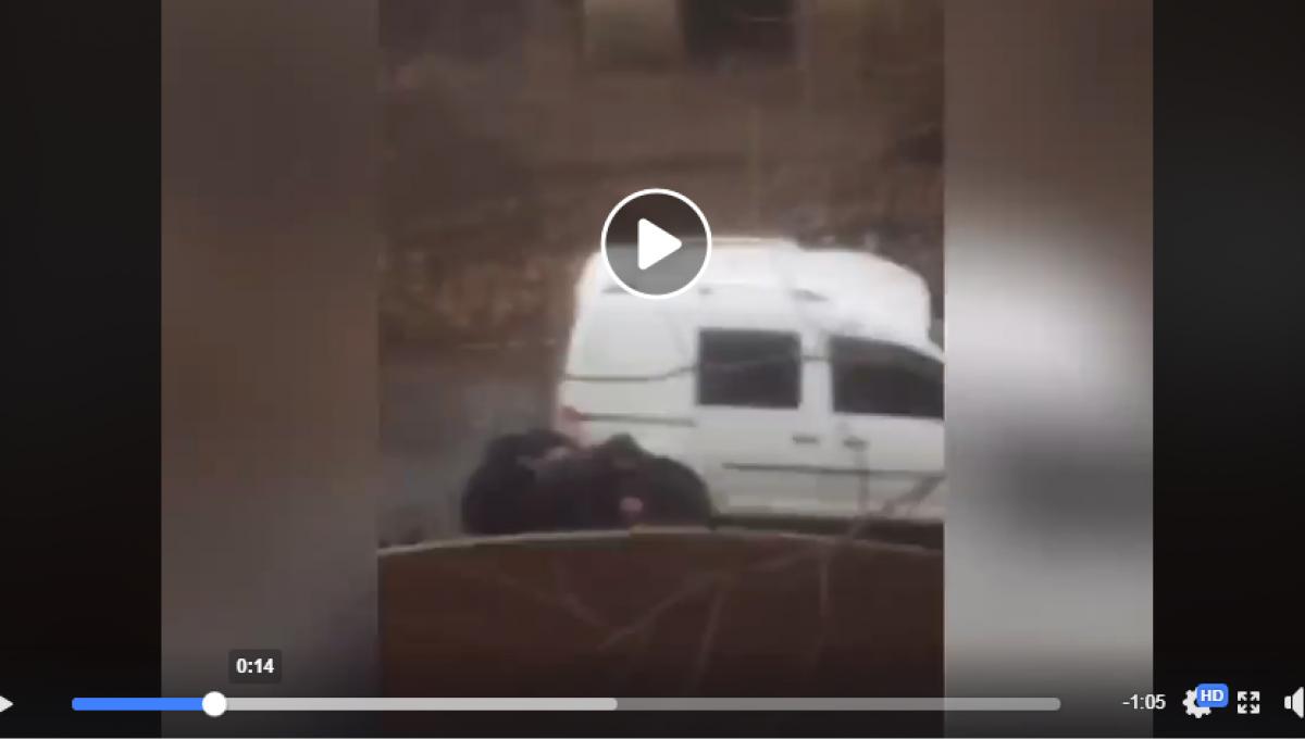 Посреди Мукачево криминальная разборка со стрельбой - есть раненые: видео