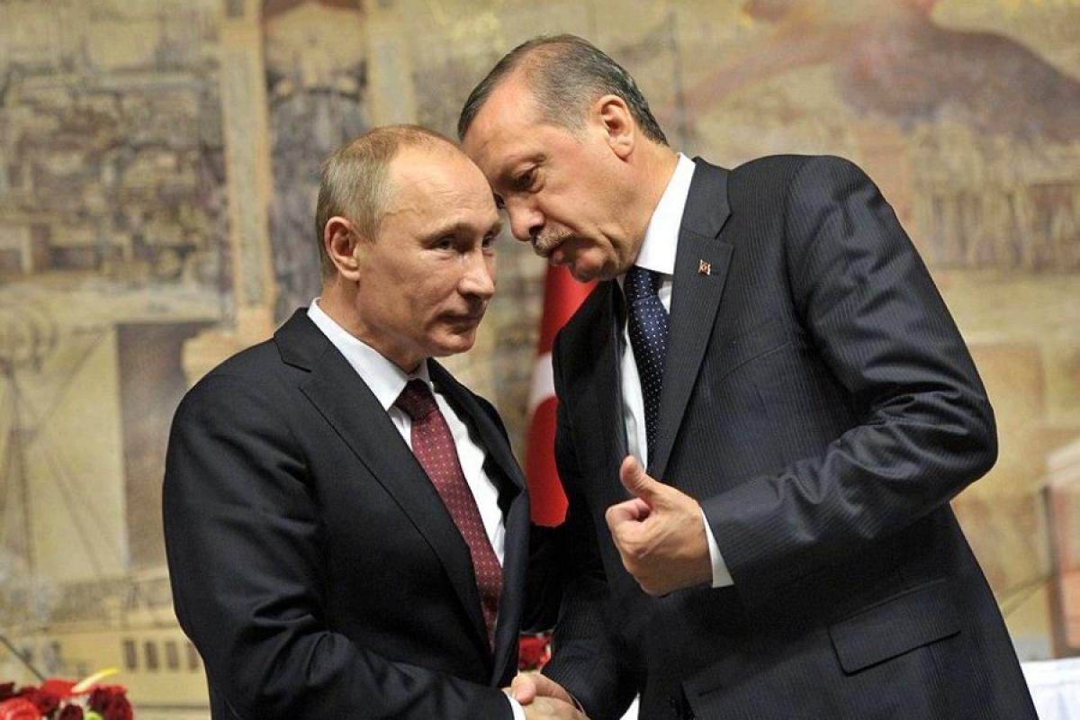 """""""""""Турецкий поток"""" построен. Теперь Эрдоган взял Путина за трубы"""", - Telegram-канал России"""