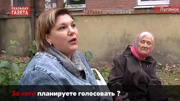 """""""Мы никого не знаем"""", - опрос из Луганска, за кого будут голосовать на """"выборах"""" главаря луганчане - видео"""
