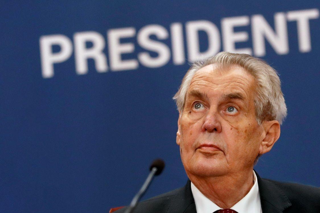 """""""Поставил под угрозу безопасность страны"""", - в Чехии обрушились на Земана за """"подыгрывание"""" Кремлю"""