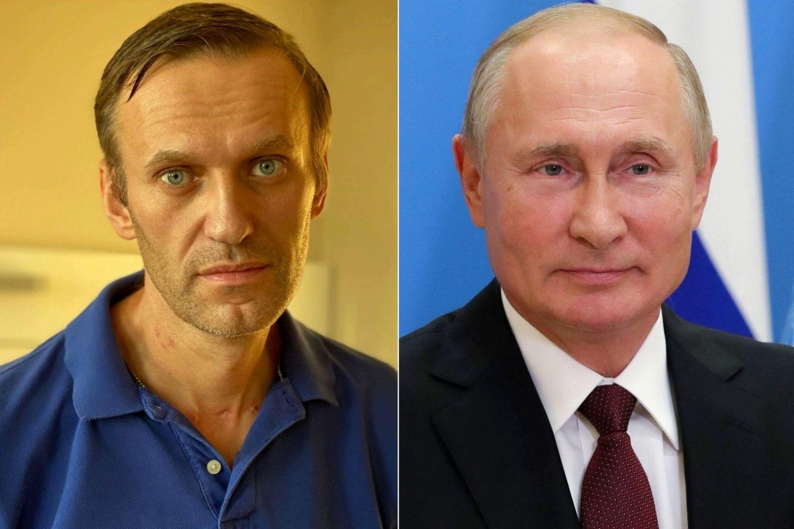 """""""Поздравил с юбилеем"""", - Путин в день рождения Навального подписал """"репрессивный"""" закон"""