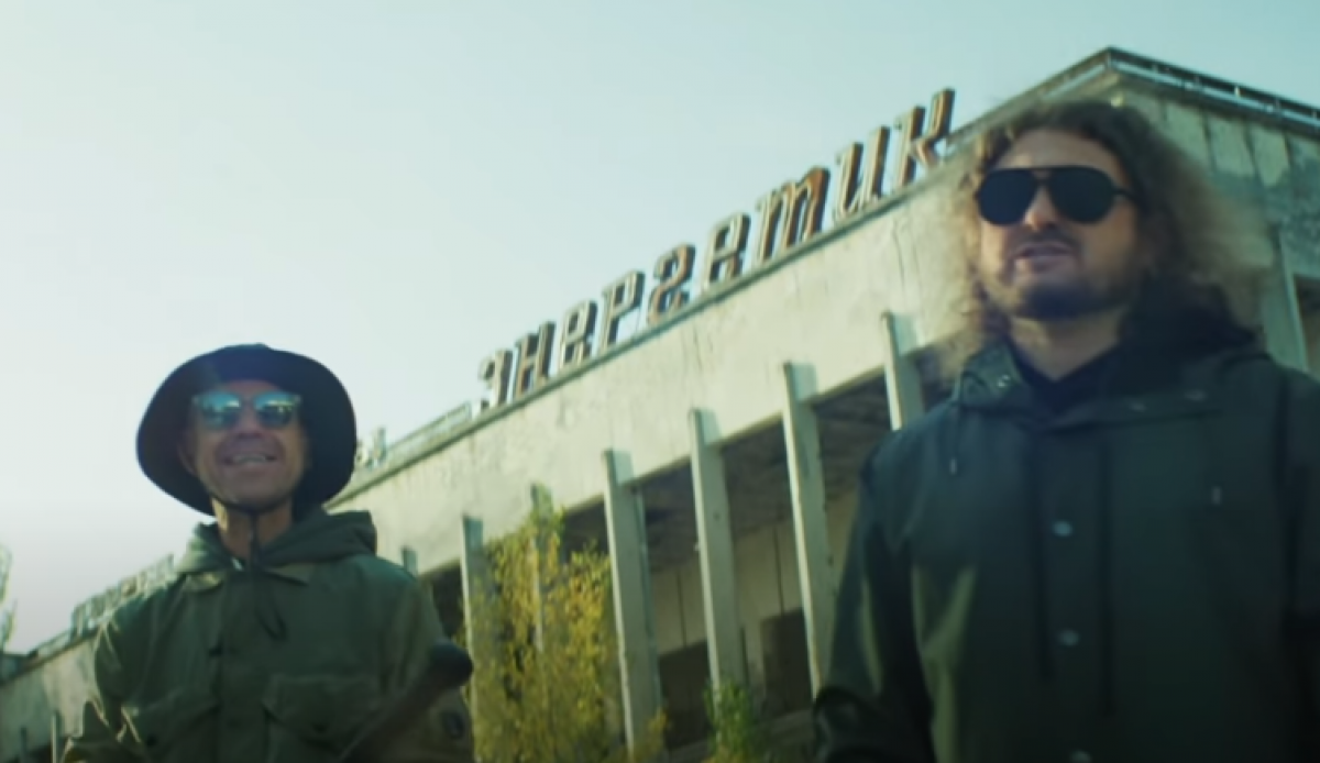 Сергей Михалок и Александр Чемеров в Чернобыле записали украинский кавер на Скрябина