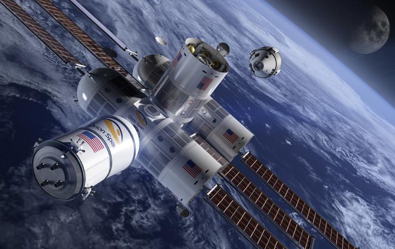 Американская компания Orion Span построит первый космический отель на орбите – кадры